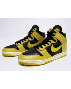 (SOLD OUT) NIKE DUNK HIGH OG IOWA Yellow Black from 1986 Pre Owned Good Conditon 11.5us