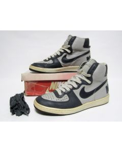 NIKE TERMINATOR HIGH OG GREY NAVY BLUE from 1985 VNDS 10.5us (4157)