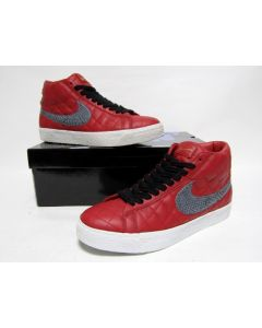 NIKE BLAZER SB SUPREME Varsity Red Light Graphite from 2006 VNDS 10us (313962-601)