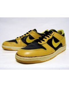 (SOLD OUT) NIKE DUNK LOW OG Yellow Black from 1985 NDS Very Good Conditon 9.5us