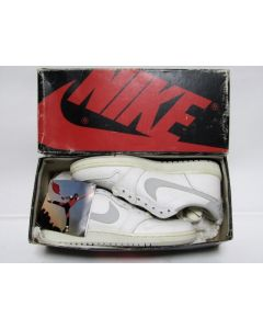 (SOLD OUT) NIKE AIR JORDAN 1 LOW OG White Natural Grey from 1985 Brand New Deadstock 8us (4285)