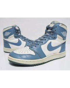 1b6e0a4c80ce87 (SOLD OUT) NIKE AIR JORDAN 1 HIGH OG White North Carolina from 1985 Pre