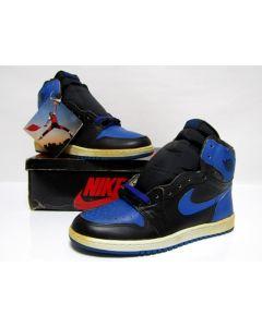 NIKE AIR JORDAN 1 HIGH OG BLACK ROYAL BLUE from 1985 Brand New Deadstock 10.5us (4282)