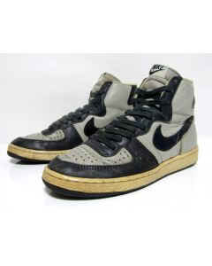 NIKE TERMINATOR HIGH OG GREY NAVY BLUE from 1985 Pre-Owned 8.5us (4157)