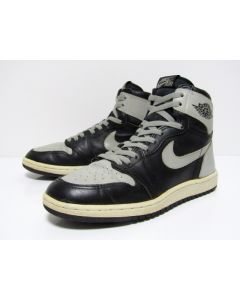 NIKE AIR JORDAN 1 HIGH OG SHADOW Black Grey from 1985 Near Deadstock Condition 8.5us