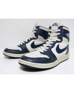 NIKE AIR JORDAN 1 HIGH OG KENTUCKY White Storm Blue from 1985 Pre-Owned Excellent Condition 7us