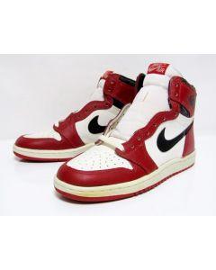 acf5ecafd0b913 NIKE AIR JORDAN 1 HIGH OG CHICAGO White Black Red from 1985 Brand New  Deadstock 7.5