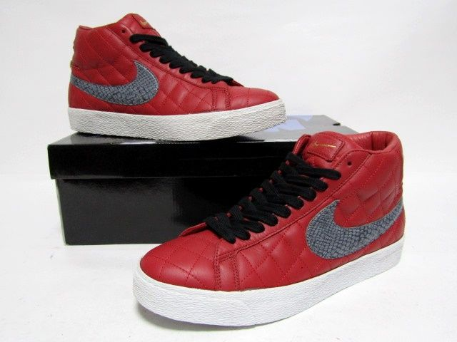 low priced 9a337 55cc7 NIKE BLAZER SB SUPREME Varsity Red Light Graphite from 2006 VNDS 10us  (313962-601)